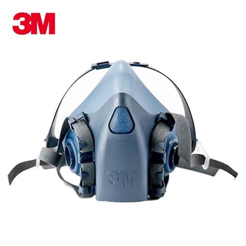 3M 반면형 마스크 7502